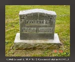 MOLIHAN COTTRILL, ROSEANNA ANNIE - Vinton County, Ohio | ROSEANNA ANNIE MOLIHAN COTTRILL - Ohio Gravestone Photos