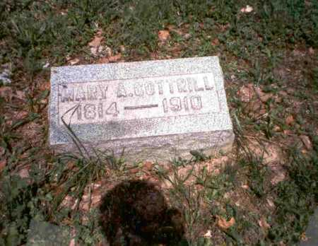 COTTRILL, MARY - Vinton County, Ohio | MARY COTTRILL - Ohio Gravestone Photos