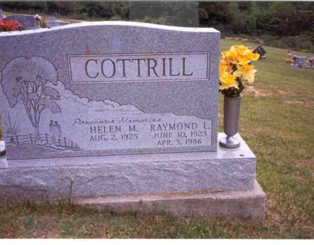 COTTRILL, HELEN M. - Vinton County, Ohio | HELEN M. COTTRILL - Ohio Gravestone Photos