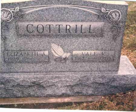 COTTRILL, VALE V. - Vinton County, Ohio | VALE V. COTTRILL - Ohio Gravestone Photos