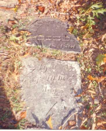 COZAD, HENRY - Vinton County, Ohio | HENRY COZAD - Ohio Gravestone Photos