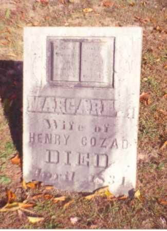 CLARK COZAD, MARGARET - Vinton County, Ohio | MARGARET CLARK COZAD - Ohio Gravestone Photos