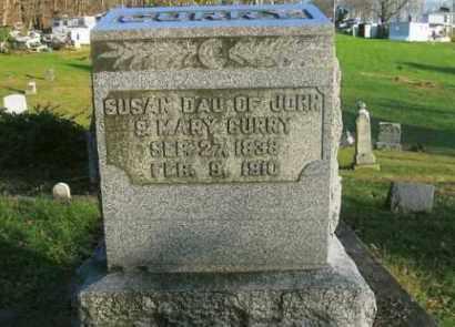 CURRY, SUSAN - Vinton County, Ohio | SUSAN CURRY - Ohio Gravestone Photos