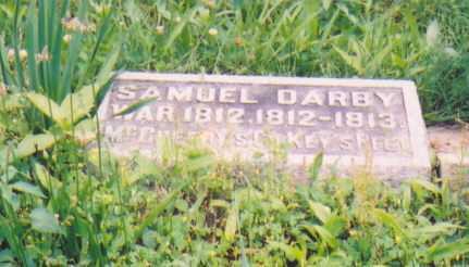 DARBY, SAMUEL (MILITARY STONE) - Vinton County, Ohio | SAMUEL (MILITARY STONE) DARBY - Ohio Gravestone Photos