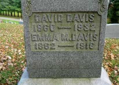 DAVIS, DAVID - Vinton County, Ohio | DAVID DAVIS - Ohio Gravestone Photos