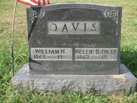 DAVIS, NELLIE B - Vinton County, Ohio | NELLIE B DAVIS - Ohio Gravestone Photos