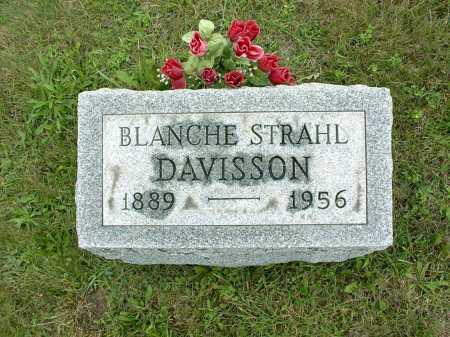 STRAHL DAVISSON, BLANCH S. - Vinton County, Ohio | BLANCH S. STRAHL DAVISSON - Ohio Gravestone Photos