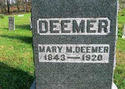 DEEMER, MARY M. - Vinton County, Ohio | MARY M. DEEMER - Ohio Gravestone Photos