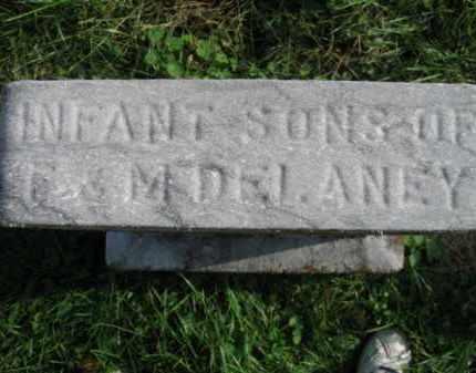 DELANEY, INFANT SONS OF  F. & M. - Vinton County, Ohio | INFANT SONS OF  F. & M. DELANEY - Ohio Gravestone Photos
