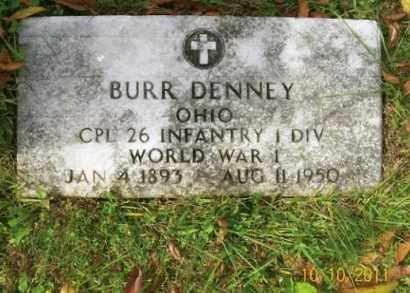 DENNEY, BURR - Vinton County, Ohio   BURR DENNEY - Ohio Gravestone Photos