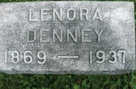 DAVIS DENNEY, LENORA - Vinton County, Ohio | LENORA DAVIS DENNEY - Ohio Gravestone Photos