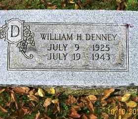 DENNEY, WILLIAM H. - Vinton County, Ohio   WILLIAM H. DENNEY - Ohio Gravestone Photos