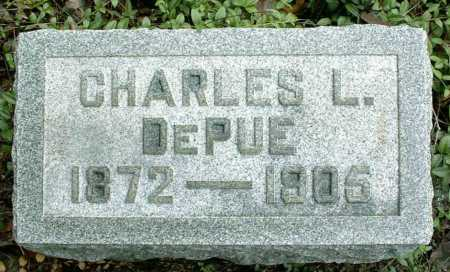 DEPUE, CHARLES LEROY - Vinton County, Ohio | CHARLES LEROY DEPUE - Ohio Gravestone Photos