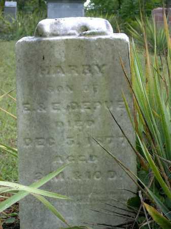 DEPUE, HARRY - Vinton County, Ohio | HARRY DEPUE - Ohio Gravestone Photos