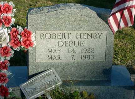 DEPUE, ROBERT HENRY - Vinton County, Ohio | ROBERT HENRY DEPUE - Ohio Gravestone Photos