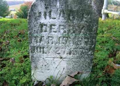 DERRY, HILAH E. - Vinton County, Ohio | HILAH E. DERRY - Ohio Gravestone Photos