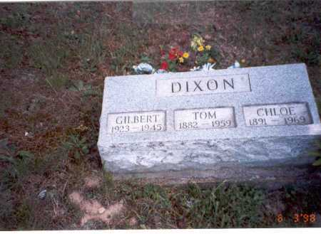 ARBAUGH DIXON, CHLOE - Vinton County, Ohio | CHLOE ARBAUGH DIXON - Ohio Gravestone Photos