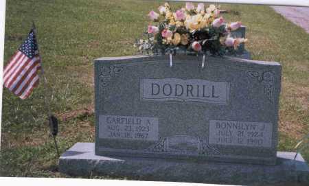 PECK DODRILL, BONNILYN J. - Vinton County, Ohio | BONNILYN J. PECK DODRILL - Ohio Gravestone Photos