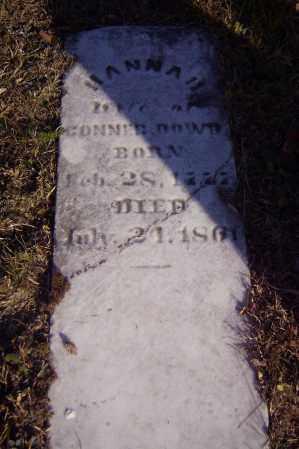 DOWD, HANNAH - Vinton County, Ohio | HANNAH DOWD - Ohio Gravestone Photos