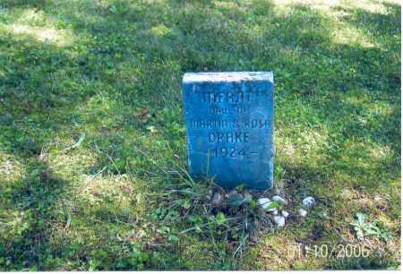 DRAKE, INFANT - Vinton County, Ohio | INFANT DRAKE - Ohio Gravestone Photos