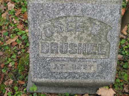 DRUSHEL,, OSEE BELLE - Vinton County, Ohio   OSEE BELLE DRUSHEL, - Ohio Gravestone Photos