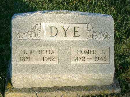 DYE, H. RUBERTA - Vinton County, Ohio | H. RUBERTA DYE - Ohio Gravestone Photos