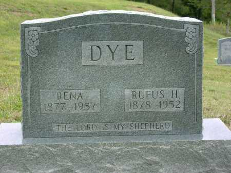 DYE, RENA LORENA - Vinton County, Ohio | RENA LORENA DYE - Ohio Gravestone Photos