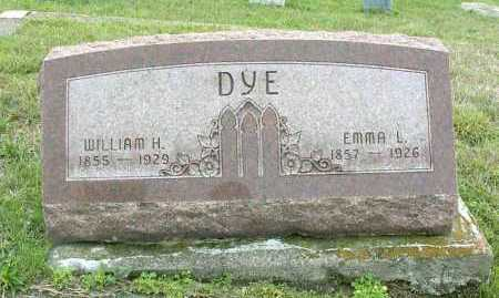 DYE, WILLIAM HENRY - Vinton County, Ohio | WILLIAM HENRY DYE - Ohio Gravestone Photos