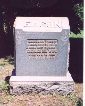 EAGON, BARNARD - Vinton County, Ohio | BARNARD EAGON - Ohio Gravestone Photos