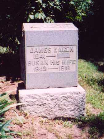 EAGON, JAMES - Vinton County, Ohio | JAMES EAGON - Ohio Gravestone Photos