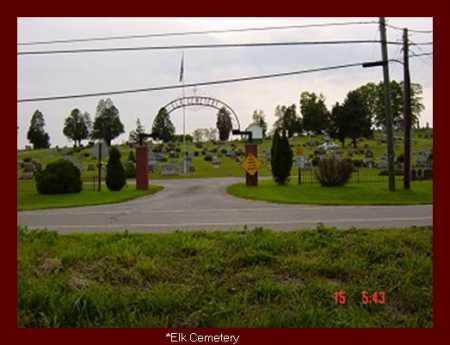 ELK, CEMETERY - Vinton County, Ohio | CEMETERY ELK - Ohio Gravestone Photos
