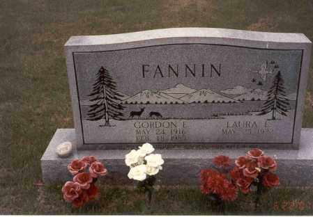 FANNIN, GORDON E. - Vinton County, Ohio | GORDON E. FANNIN - Ohio Gravestone Photos