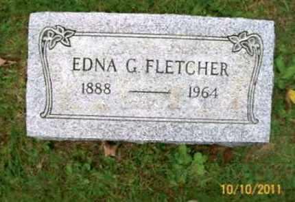 STEELE FLETCHER, EDNA G. - Vinton County, Ohio | EDNA G. STEELE FLETCHER - Ohio Gravestone Photos