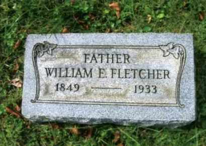 FLETCHER, WILLIAM EDWARD - Vinton County, Ohio | WILLIAM EDWARD FLETCHER - Ohio Gravestone Photos