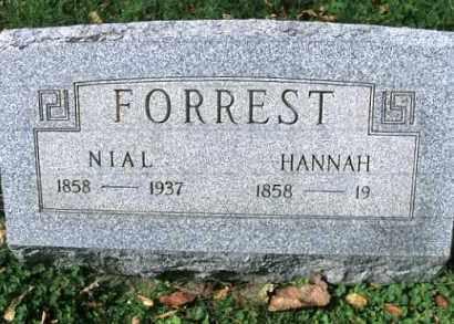 MCCARTY FORREST, HANNAH - Vinton County, Ohio | HANNAH MCCARTY FORREST - Ohio Gravestone Photos