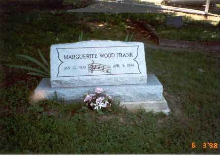 FRANK, MARGUERITE - Vinton County, Ohio   MARGUERITE FRANK - Ohio Gravestone Photos