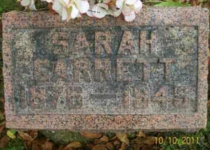 MCGRAPH GARRETT, SARAH - Vinton County, Ohio   SARAH MCGRAPH GARRETT - Ohio Gravestone Photos