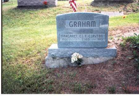 GRAHAM, MARGARET E. - Vinton County, Ohio | MARGARET E. GRAHAM - Ohio Gravestone Photos