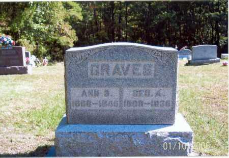 GRAVES, ANN B. - Vinton County, Ohio | ANN B. GRAVES - Ohio Gravestone Photos