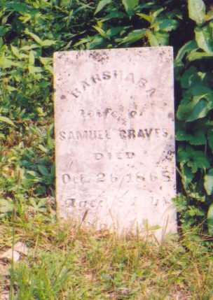 GRAVES, BARSHABA - Vinton County, Ohio | BARSHABA GRAVES - Ohio Gravestone Photos