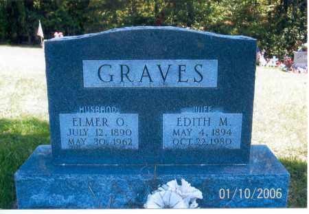 GRAVES, ELMER O. - Vinton County, Ohio | ELMER O. GRAVES - Ohio Gravestone Photos