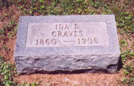 GRAVES, IDA E. (SECOND STONE) - Vinton County, Ohio | IDA E. (SECOND STONE) GRAVES - Ohio Gravestone Photos