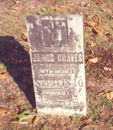 GRAVES, JAMES - Vinton County, Ohio | JAMES GRAVES - Ohio Gravestone Photos