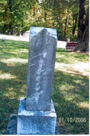 GRAVES, MARTHA - Vinton County, Ohio | MARTHA GRAVES - Ohio Gravestone Photos