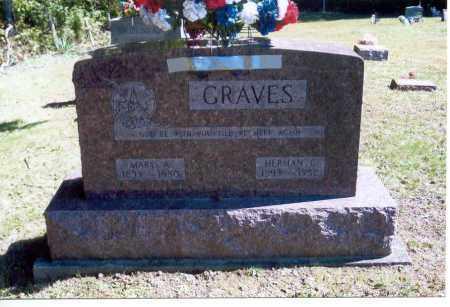GRAVES, MARY A. - Vinton County, Ohio   MARY A. GRAVES - Ohio Gravestone Photos