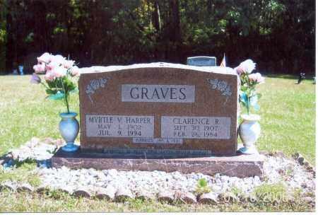 GRAVES, MYRTLE V. - Vinton County, Ohio | MYRTLE V. GRAVES - Ohio Gravestone Photos