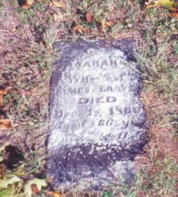 GRAVES, SARAH - Vinton County, Ohio | SARAH GRAVES - Ohio Gravestone Photos