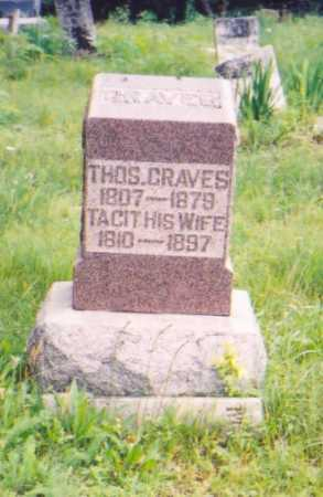 GRAVES, THOMAS - Vinton County, Ohio | THOMAS GRAVES - Ohio Gravestone Photos