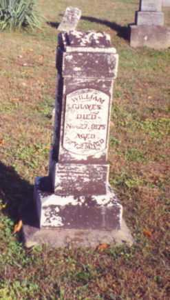 GRAVES, WILLIAM - Vinton County, Ohio | WILLIAM GRAVES - Ohio Gravestone Photos