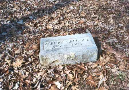 GREGORY, ASBURY - Vinton County, Ohio | ASBURY GREGORY - Ohio Gravestone Photos